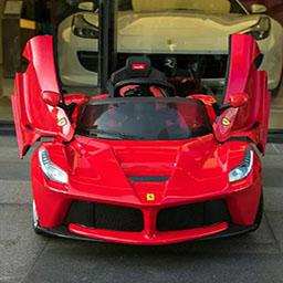 Coches electricos para niños Ferrari