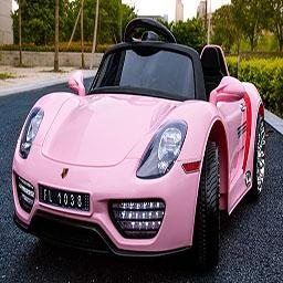 Coches electricos para niños rosa