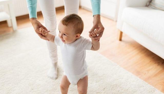 Cuando empiezan a caminar los bebes