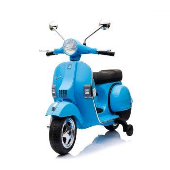motos electricas para ninos 12v vespa azul